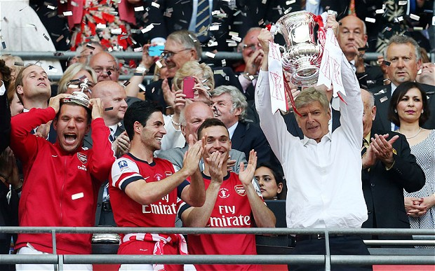Community Shield Positives for Arsenal